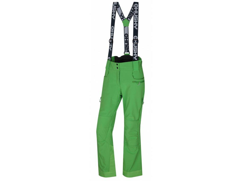 Husky Lyžařské kalhoty Galti zelená