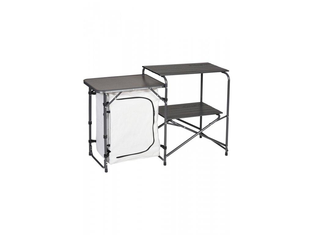 Husky Skládací stole / Kuchyňka Moky stříbrná