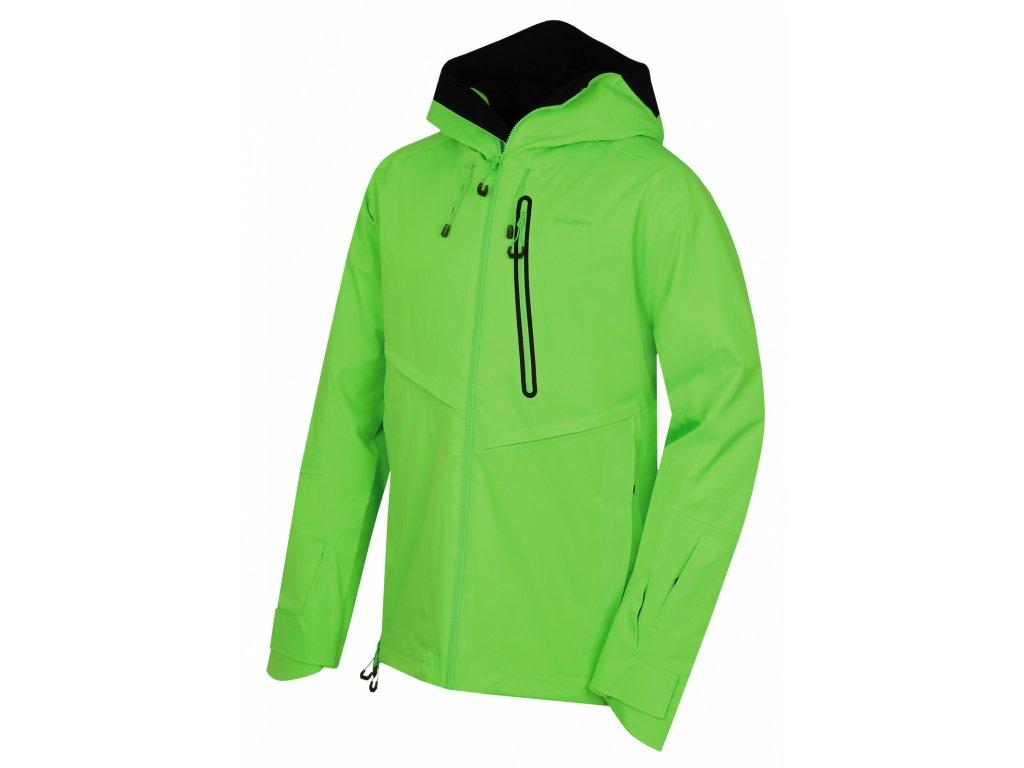 Husky Lyžařská bunda Mistral neonově zelená