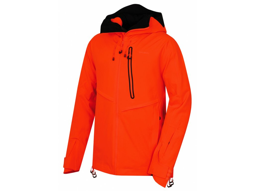 Husky Lyžařská bunda Mistral neonově oranžová