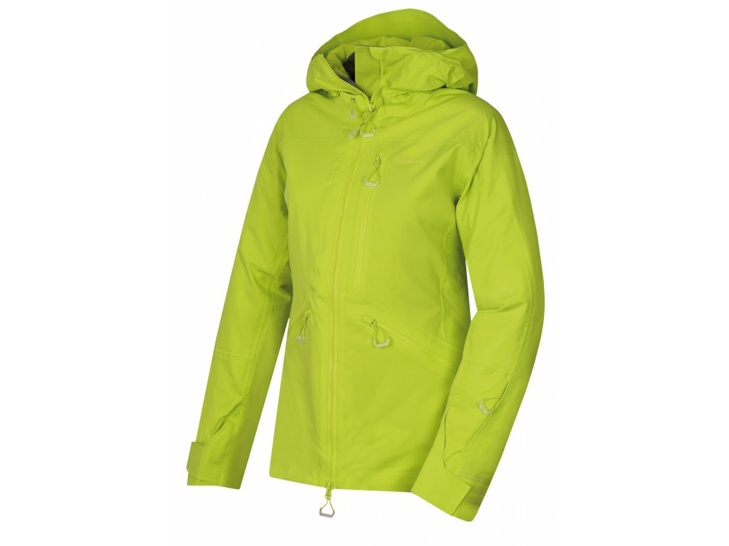 Husky Lyžařská bunda Gomez výrazně zelená