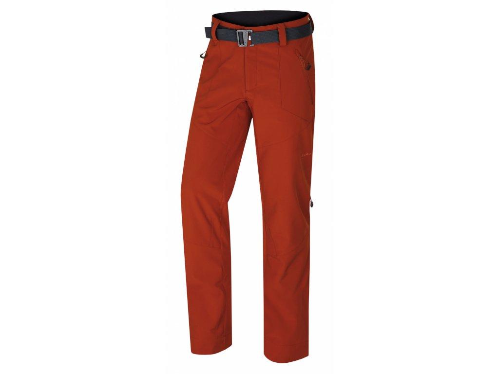 Husky Outdoor kalhoty Kresi oranžovohnědá