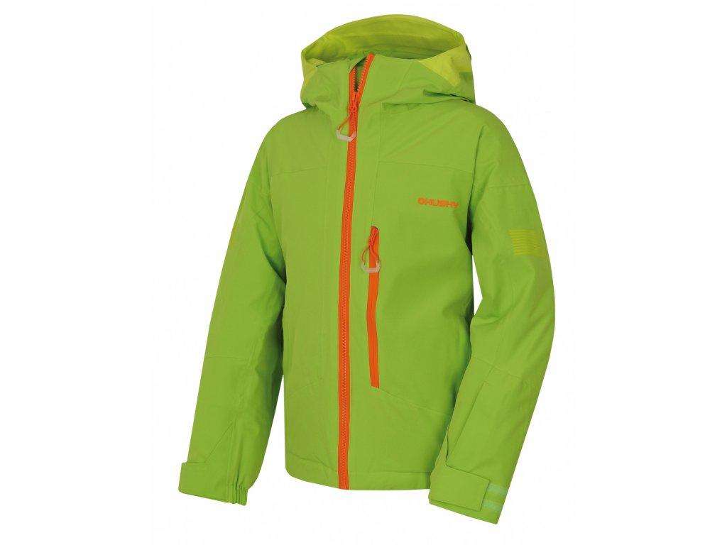 Husky Ski bunda Gomez Kids zelená