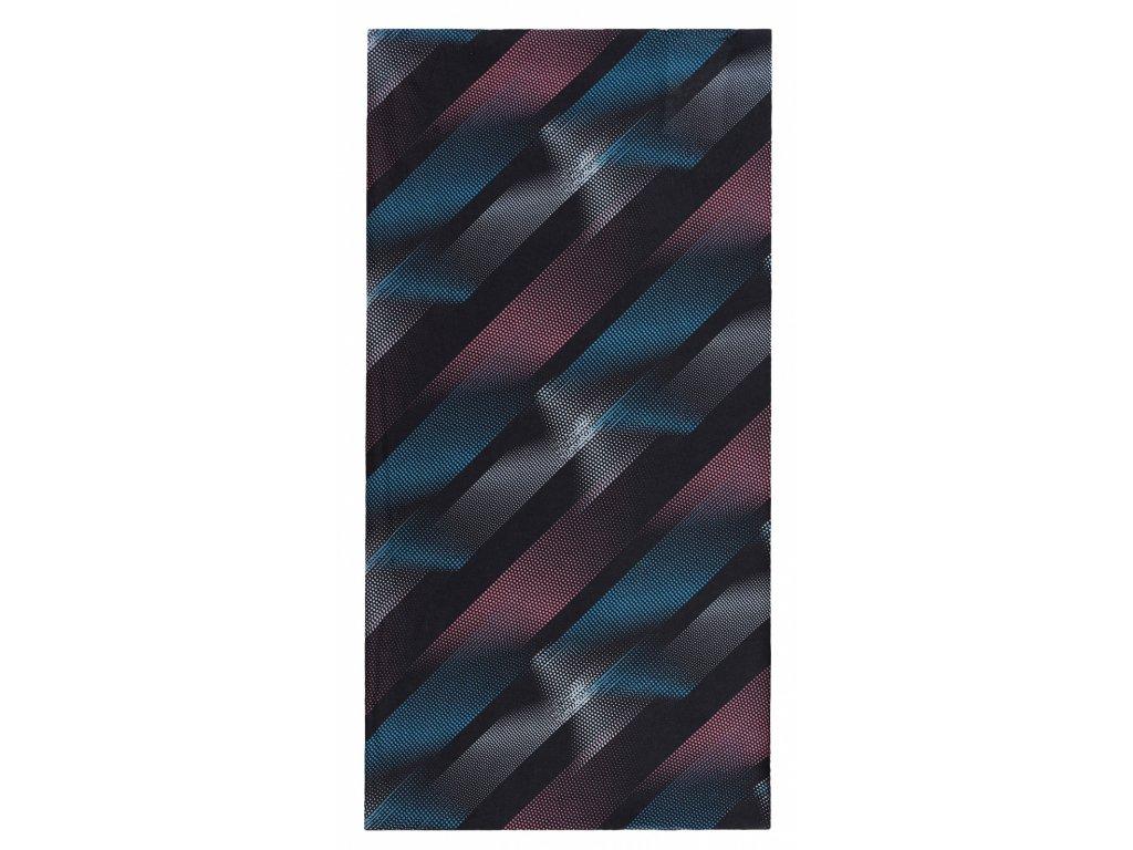 Husky Multifunkční šátek Printemp grey blue