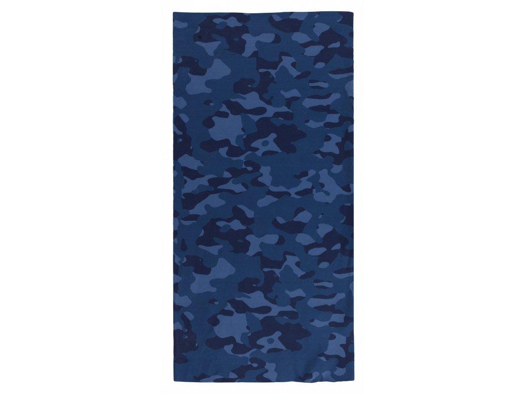 Husky Multifunkční šátek Procool blue camouflage