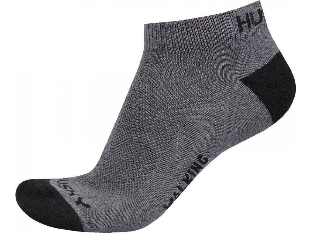 Husky Ponožky Walking šedá