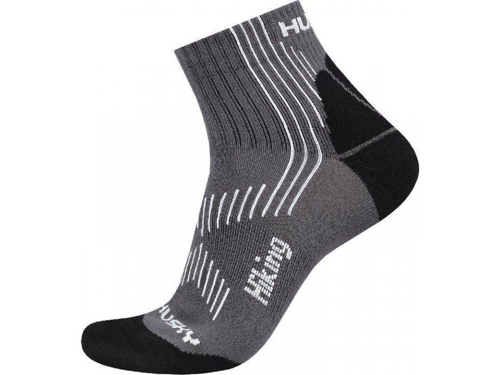 Husky Ponožky Hiking šedá