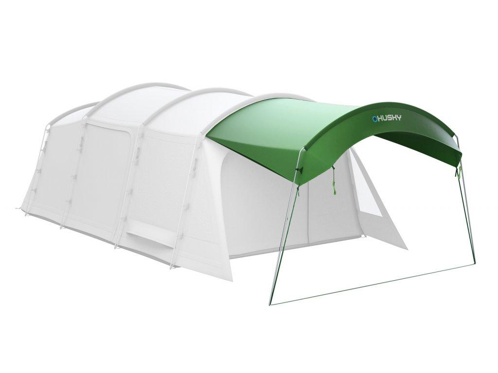 Husky Stanový přístřešek Caravan shelter zelená