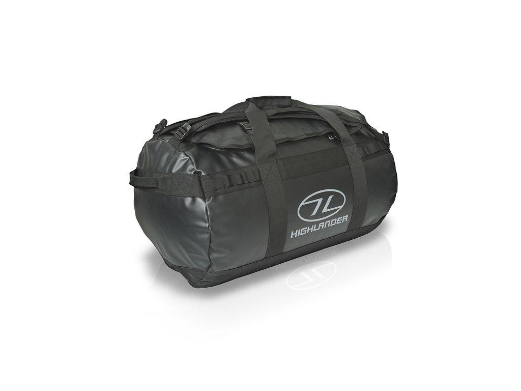Highlander Duffle Bag Lomond 65 l Taška černá
