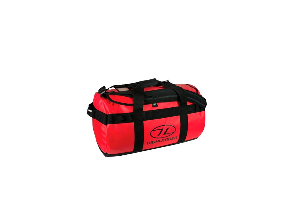 Highlander Duffle Bag Lomond 65 l Taška červená