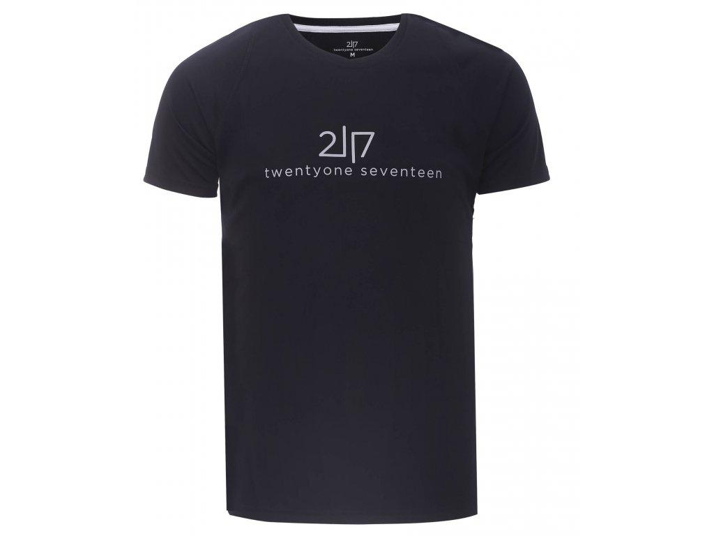 2117 TUN - pánské funkční triko s kr.rukávem - Black