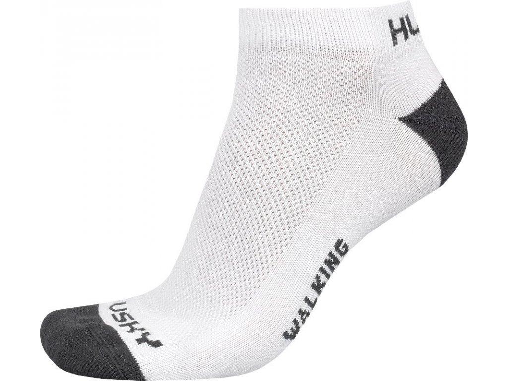 Husky Ponožky Walking bílá