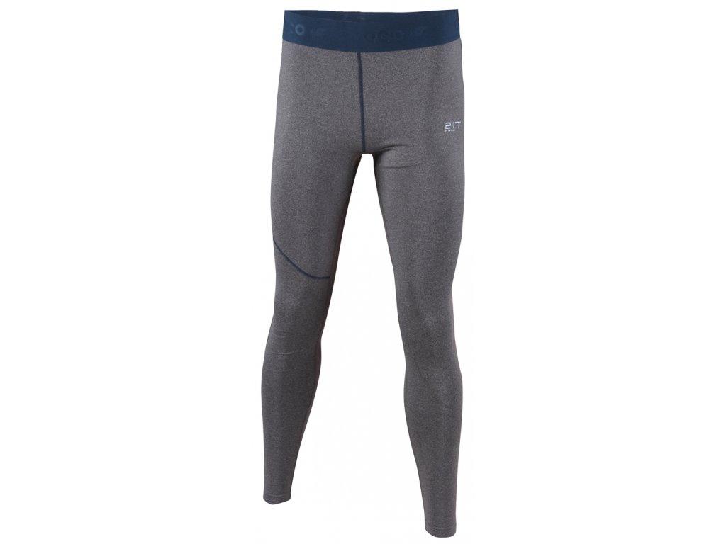 2117 GRAN - ECO kalhoty dl. (2.vrstva) - šedé melange