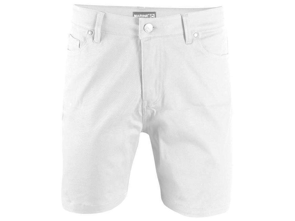 2117 MARINE - krátké kalhoty - bílé