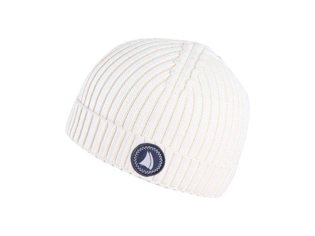 2117 Marine čepice - bílošedá