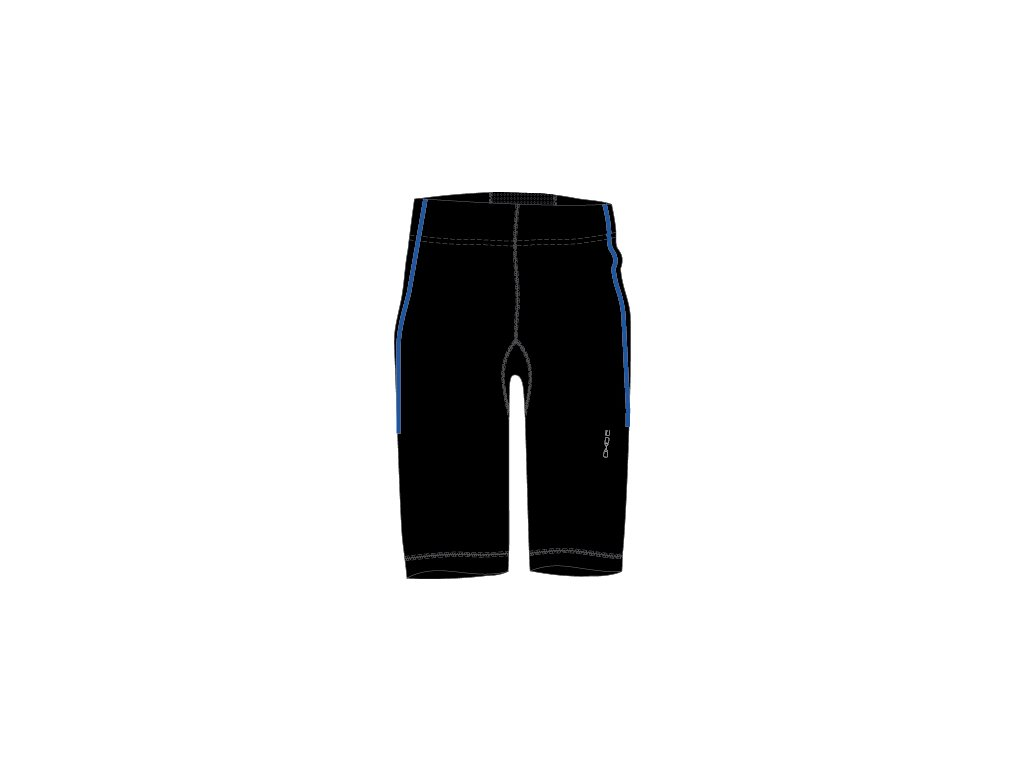 2117 OXIDE - elastické kalhoty 3/4 - černomodré