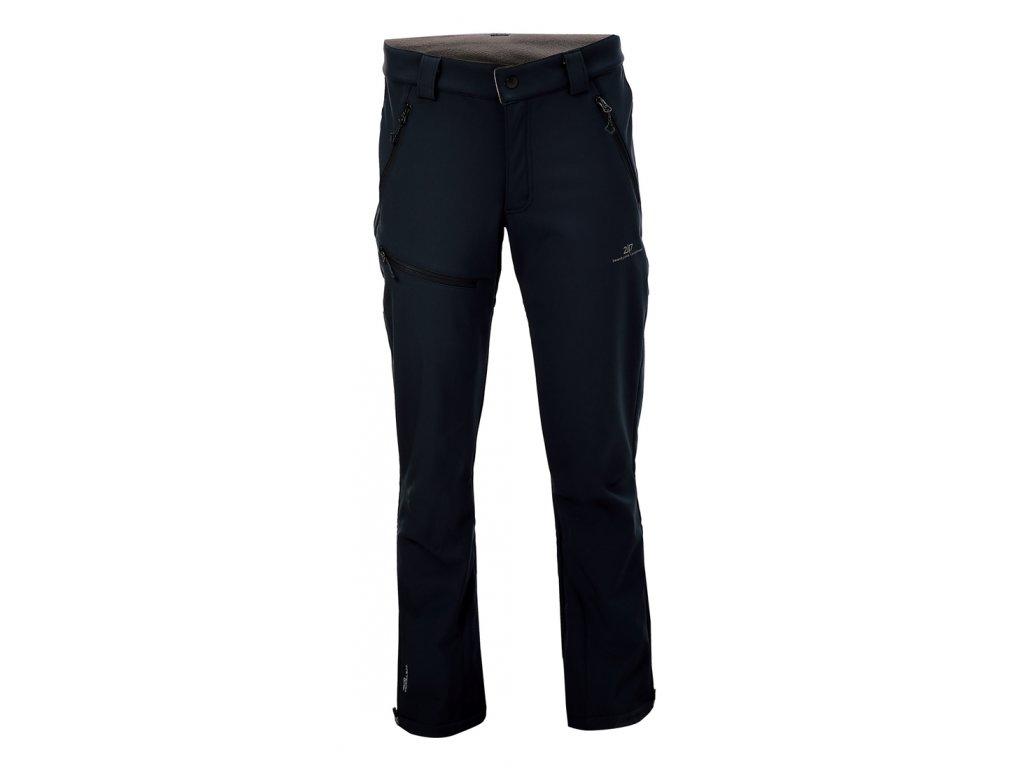 2117 BALEBO - softshelové kalhoty - černé