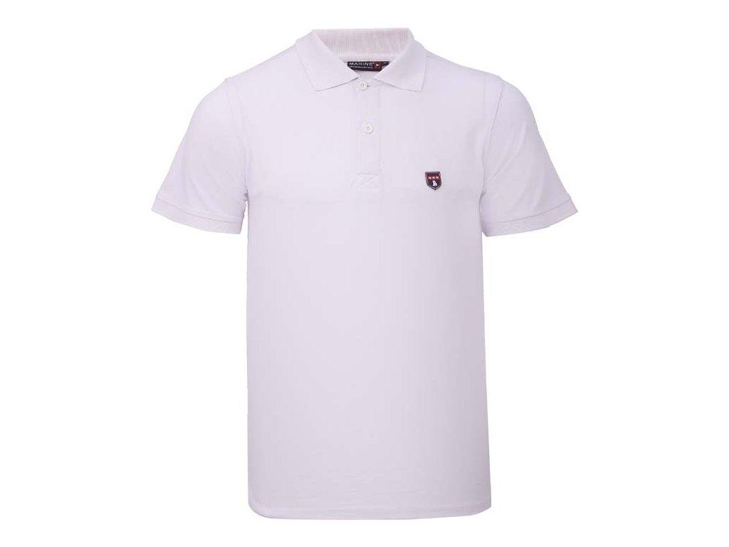 2117 MARINE - polo tričko - White