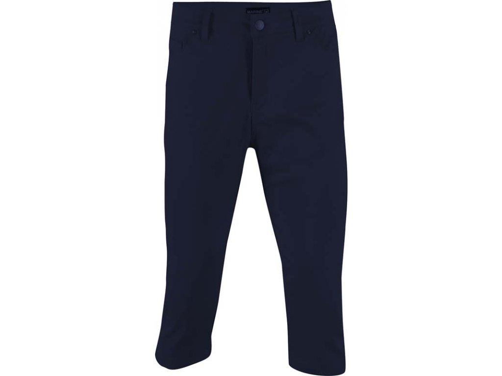 2117 MARINE - 3/4 kalhoty (jersey - spandex), nám.modrá
