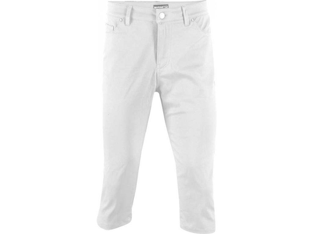 2117 MARINE - 3/4 kalhoty (jersey - spandex), bílá