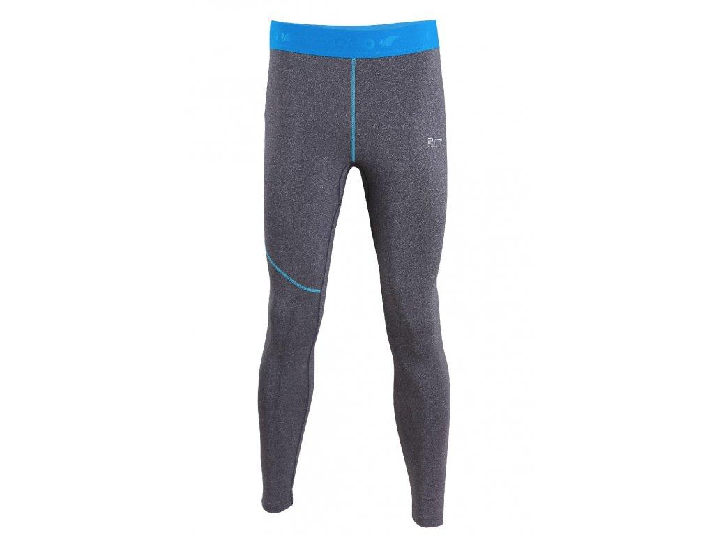 2117 GRAN - eco kalhoty (2.vrstva) - šedé melange