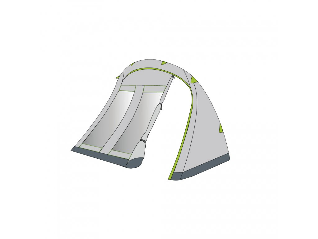 Coleman Porch with closure 6 P tent
