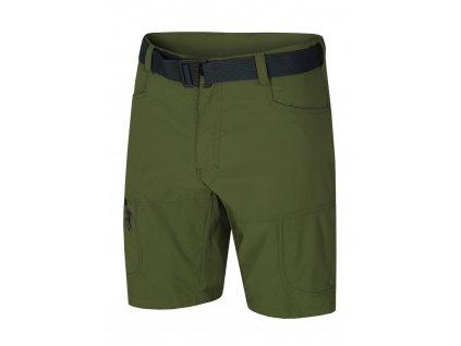 Husky Pánské šortky Kimbi tm.zelená