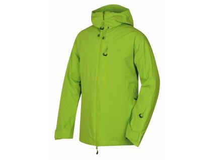 Husky Pánská lyžařská bunda Gomez zelená