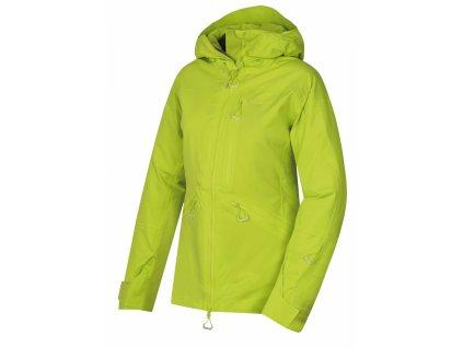 Husky Dámská lyžařská bunda Gomez výrazně zelená