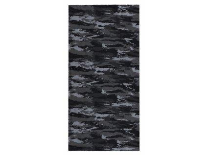 Husky multifunkční šátek Printemp urban camouflage