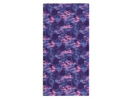Husky multifunkční šátek Procool pink spots