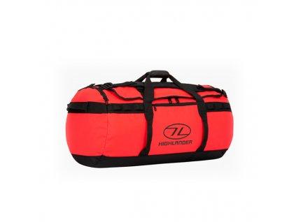 Highlander Storm Kitbag (Duffle Bag) 90 l Taška červená