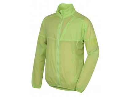 Husky Pánská ultralehká bunda Loco sv. zelená