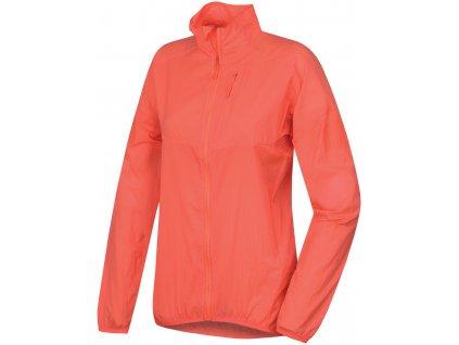 Husky Ultralehká bunda Loco neonově růžová