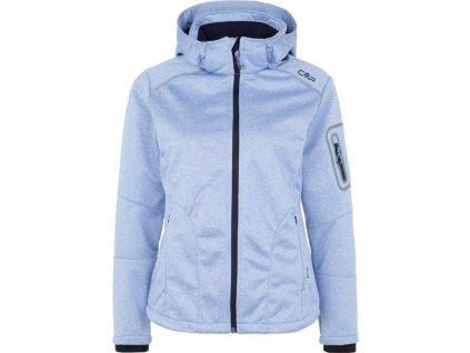 cmp women softshell jacket zip hood 3a05396m persia mel navy