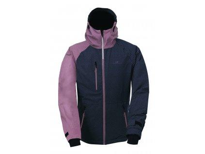 2117 LANNA - ECO dámská 2L lyžařská bunda - aop