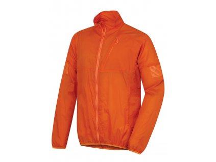 Husky Pánská ultralehká bunda Loco oranžová