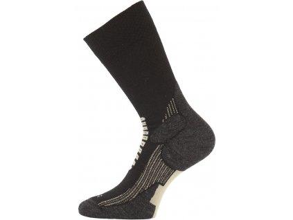 Lasting merino lyžařské ponožky SCA černé