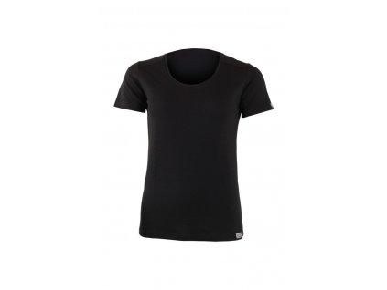 Lasting dámské merino triko IRENA černé