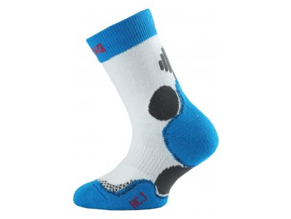 Lasting dětské hokejové ponožky HCJ bílé