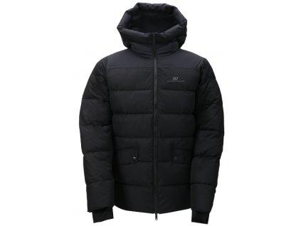 2117 BJÖRKAS - Pánský zateplený kabát - black