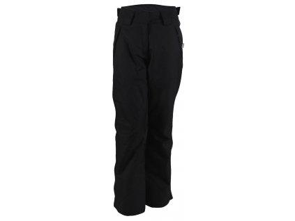 2117 AKKAN - dámské lyžařské kalhoty - černé tkané