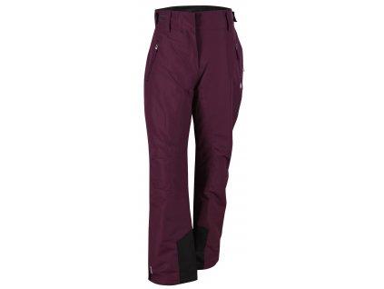 2117 STALON - dámské lehké zateplené lyžařské kalhoty - fialové