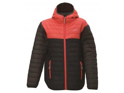 2117 VALLERAS- dívčí lehká zateplená bunda (primaloft) - růžová