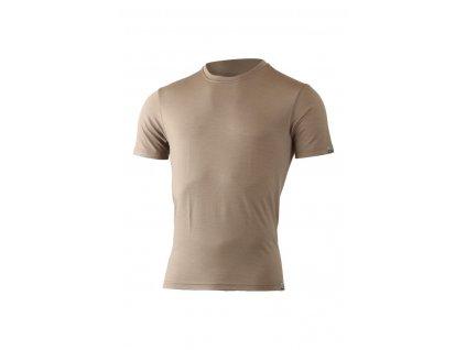 Lasting pánské merino triko CHUAN hnědá