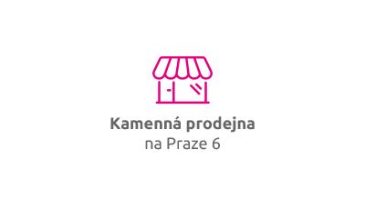 Kamenná prodejna na Praze 6