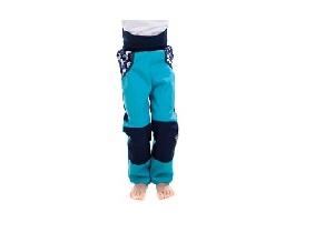 Dětské softshelové kalhoty s fleecem