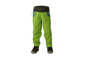Dětské softshelové kalhoty bez zateplení