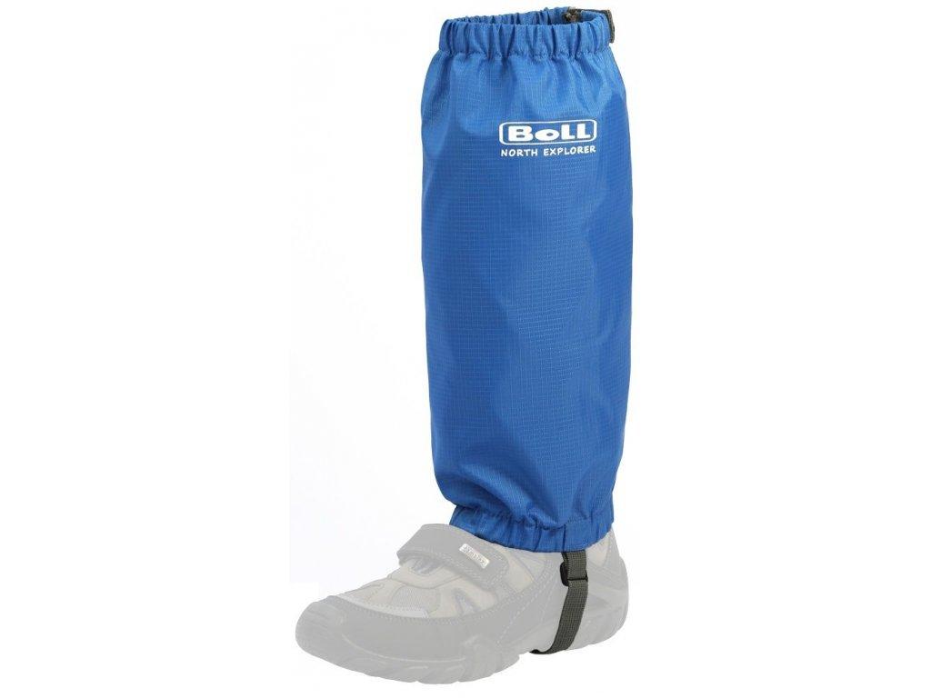 Kvalitní praktické návleky pro dětské boty Boll Kids Gaiter v modré barvě