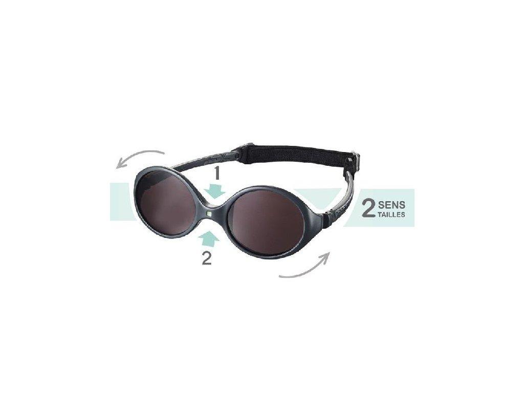 Dětské sluneční brýle KiETLA Diabola 0-18 m. - mentolová - OUTDOORBABY ac1d6514b5